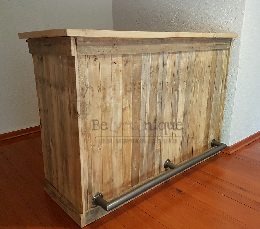 pallet bar 2 reclaimed timber bar pallet furniture bar pallet wood bar. Black Bedroom Furniture Sets. Home Design Ideas