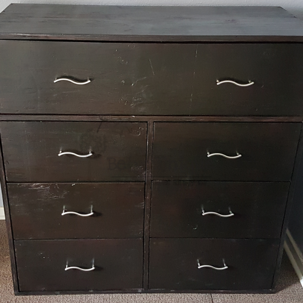 Pallet furniture Johannesburg, compactum, Baby compactum, chest of drawers 2, storage drawers