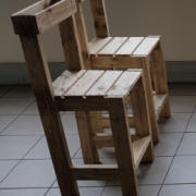 pallet chairs Johannesburg, Pallet bar chair,wood chairs 6