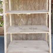 pallet display stand, wooden shelving, display shelf 6, display stand 3, Online pallet display stand