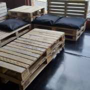 pallet furniture couch, pallet couch, reclaimed pallet couch, pallet couch 2 patio set Johannesburg 5