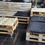 pallet furniture couch, pallet couch, reclaimed pallet couch, pallet couch 2 patio set Johannesburg 6