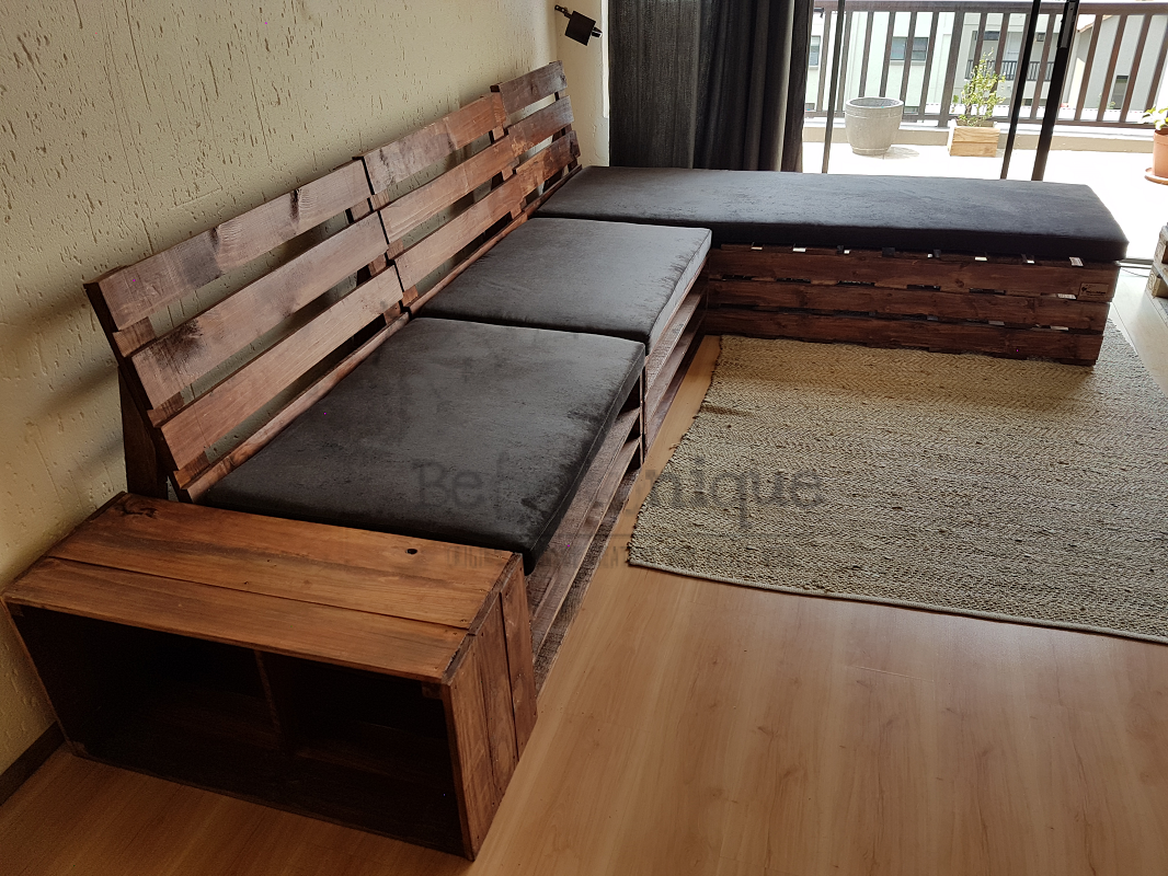 pallet furniture couches, pallet couch, reclaimed pallet couch, pallet couch 3, patio set Johannesburg 18, day bed couch
