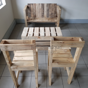 pallet furniture patio set Johannesburg, patio set, reclaimed pallet furniture, table and chairs patio, patio set 1, pallet patio set Johannesburg