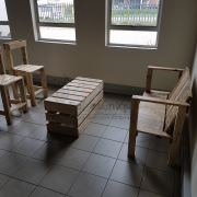 pallet patio set Johannesburg, patio set, reclaimed pallet furniture, table and chairs patio, patio set 1, pallet 4, re purposed pallet furniture Johannesburg