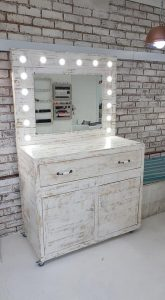 Pallet Wood Furniture JHB, pallet furniture catalog JHB, Makeup stand, Hollywood lights, Pallet furniture design, Pallet furniture for sale, Pallet wood furniture Centurion, Pallets 2b
